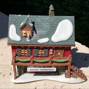 Dept 56 Santa's Woodworks 56286 NO LIGHT / CORD